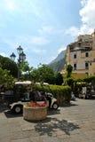 Beauté stupéfiante d'Amalfi Image stock