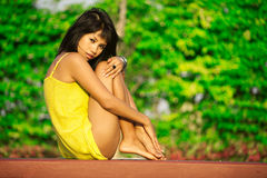 Beauté thaïe photos stock