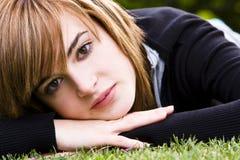 Beauté tranquille sur l'herbe Photo libre de droits