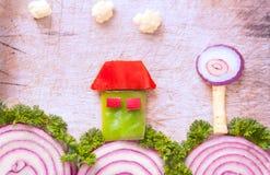 Beauté unie des légumes Photos stock