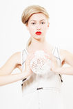 Beauté Vera N4 images libres de droits