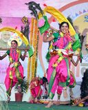 Beautés culturelles d'Inde Photo libre de droits