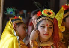 Beautés culturelles d'Inde Photos stock