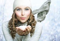 Beauté de l'hiver Photo stock