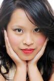 Beaut? femelle asiatique Photographie stock libre de droits