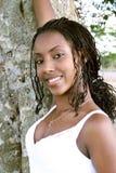 Beauté noire 1 Image libre de droits