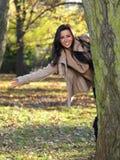 Beauté pendant l'automne Photographie stock