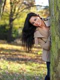 Beauté pendant l'automne Images stock