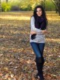 Beauté pendant l'automne Images libres de droits