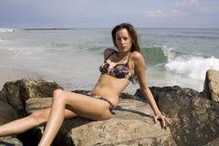 Beauté sur les roches 5 Photo libre de droits