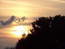 Beauteful-Sonnenuntergang lizenzfreies stockbild