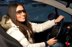 beautful οδηγός Στοκ φωτογραφία με δικαίωμα ελεύθερης χρήσης