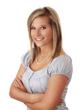 Beautful blond woman Royalty Free Stock Image