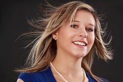 Beautful blond woman Stock Photography