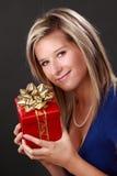 Beautful blonde Frau Lizenzfreie Stockfotos