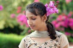 Beauti της Ινδίας Στοκ φωτογραφίες με δικαίωμα ελεύθερης χρήσης