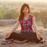 Beauti av Indien royaltyfri foto