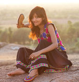 Beauti da Índia Imagem de Stock Royalty Free