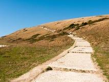 beauti de la bahía del día de verano del paisaje de la naturaleza de la opinión de Dorset de la ensenada del lulworth fotografía de archivo