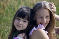 Beauti girls Stock Photography