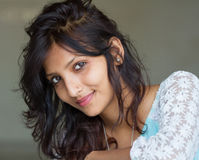 Beauti of India. Beautiful exotic young woman of india stock images