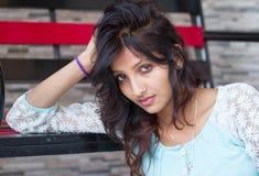 Beauti of India. Beautiful exotic young woman of india stock photos