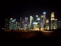 Beauti of Singapore. Marinaa bay nearby Royalty Free Stock Photos