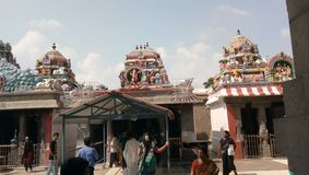 Beauti temple of god n godess. Chennai stock photo