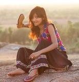 Beauti von Indien lizenzfreies stockbild