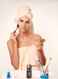 Beautician Royalty Free Stock Images