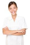 Beautician / massage therapist royalty free stock photography