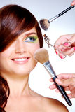 At beautician�s Stock Image