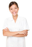 Beautician/thérapeute de massage photographie stock libre de droits