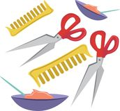 Beautician Tools Royalty Free Stock Photography