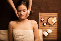 At the beautician Royalty Free Stock Photography