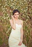 Beautidul bride portrait Stock Photo