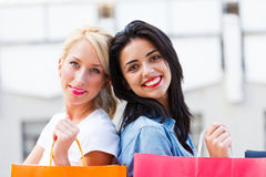 Beauties in the City Stock Image