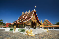 Beautifal thai temple Royalty Free Stock Photo