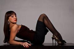 Beautifful lady Royalty Free Stock Photography