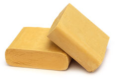 Beautification product of Sandalwood. Over white background Stock Photo