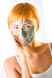 Beautifier Mask Stock Photography