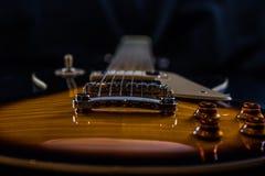 Beautifil电吉他 免版税库存图片