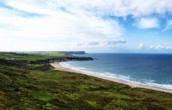 Beautifil-Irenküstenlinie stockfotografie