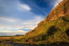 Island landskap Fotografering för Bildbyråer