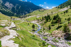 Beautifil mountain landscape Stock Image