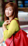 Beautifu Asian woman taken in natural light Royalty Free Stock Photos
