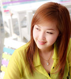 Beautifu Asian woman taken in natural light Royalty Free Stock Photo