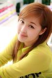 Beautifu Asian woman taken in natural light Royalty Free Stock Photography