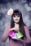 Beautifu brunette girl  Royalty Free Stock Photography