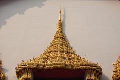 Beautifu detail of the door at Wat Pho  or Wat Phra Chetuphon , Stock Image